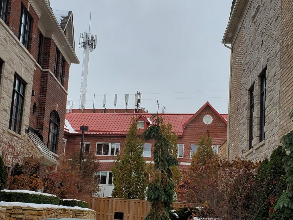 cell towers right infront of peoples windows