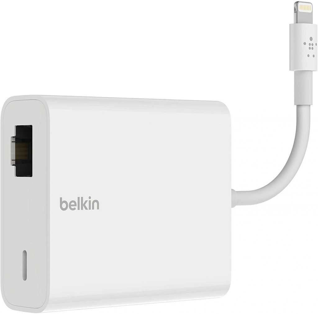 Belkin Ethernet + Power Adapter